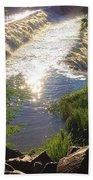 Shimmering Sun Rays On Colorado Springs Beach Towel