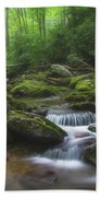 Shining Creek Beach Towel