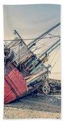 Shipwreck Provincetown Breakwater Beach Towel