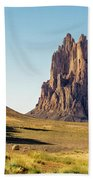 Shiprock 3 - North West New Mexico Beach Towel