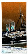 Shipshape 4 Beach Towel