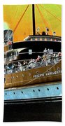Shipshape 6 Beach Towel