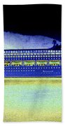 Shipshape 7 Beach Towel by Will Borden