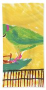 Shirley's Bird Beach Towel