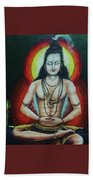 Shiva Beach Towel