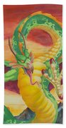 Shivan Dragon 3.0 Beach Towel