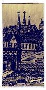 Shoenou Monastary Germany Beach Towel