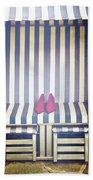 Shoes In A Beach Chair Beach Towel