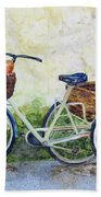 Shopping Day In Lucca Italy Beach Towel