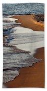 Shore Of Lake Michigan Beach Towel