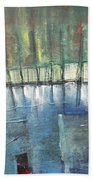 Shoreline Reflections Beach Towel