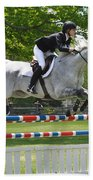 Show Jumper Beach Towel