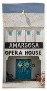 Show Tonight Amargosa Opera House Beach Towel