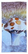 Shrooms Beach Towel