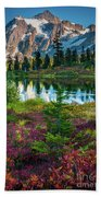 Shuksan Autumn Beach Towel