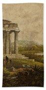 Sicilian Scenery 1823 Beach Towel