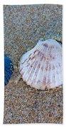 Side By Side Shells Beach Towel