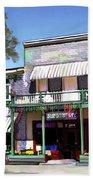 Side Street Cafe Los Olivos Ca Beach Towel