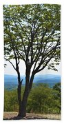 Sideling Hill Lookout  Beach Towel