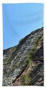 Sideling Hill Rock Beach Towel