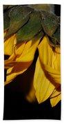 Sideview Sunflower Beach Towel