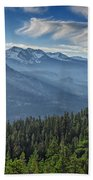 Sierra Mist Beach Towel