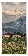 Sierra Nevada View Beach Towel