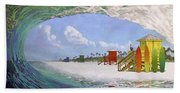 Siesta Key Curl Beach Towel