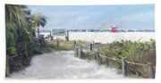 Siesta Key Public Beach Access Beach Towel