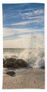 Siesta Key Splash Beach Towel