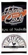 Signs Of Nashville Beach Towel