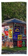 Signs Of Past Times Beach Towel