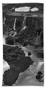 Sigoldufoss Waterfalls Iceland 1294 Beach Towel