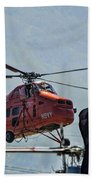 Sikorsky S-58t Beach Towel
