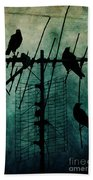Silent Threats Beach Towel by Andrew Paranavitana