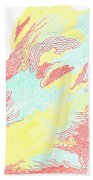 Silhouette Beach Towel