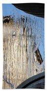 Silken Fountain Curtain -  Beach Towel