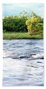 Silky Susquehanna River Beach Towel