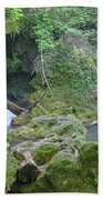 Silky Waterfall Beach Towel