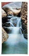 Silky Waters Of Jemez Springs Beach Towel