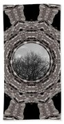 Silver Idyl Beach Towel