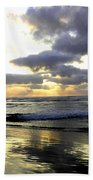 Silver Shores Beach Towel