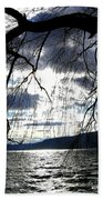 Silver Sunset Beach Towel