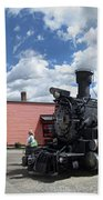 Silverton Durango Steam Train - Silverton Colorado Beach Towel