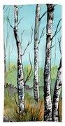 Simply Birches Beach Sheet