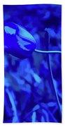 Simply Blue Pink Tulip Beach Towel