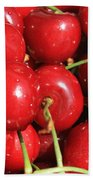 Simply Cherries  Beach Towel