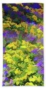 Simply Soft Colorful Garden Beach Towel