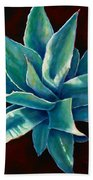 Simply Succulent Beach Towel