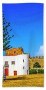 Sines Castle Beach Towel
